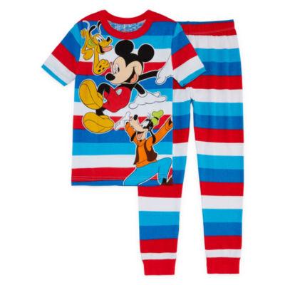 Disney 2-pack Mickey Mouse Pajama Set Boys