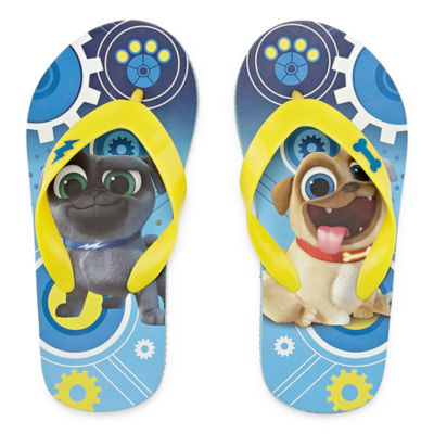 "Disney Puppy Dog Pals Flip-Flops- Kids"" 5-12"