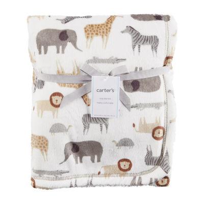 Carter's Critter Print Blanket - Unisex