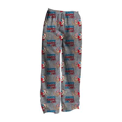 Nickelodeon Mens Big Microfleece Pajama Pants