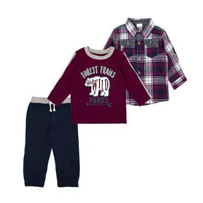 Nanette Baby 3-pc. Pant Set Toddler Boys