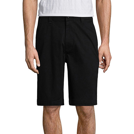 "St. John's Bay Men's Comfort Stretch 10"" Chino Short"