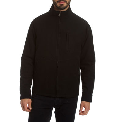 Excelled Men's Comfort Stretch Water Resistant Lightweight Wool Blend Jacket - Big and Tall