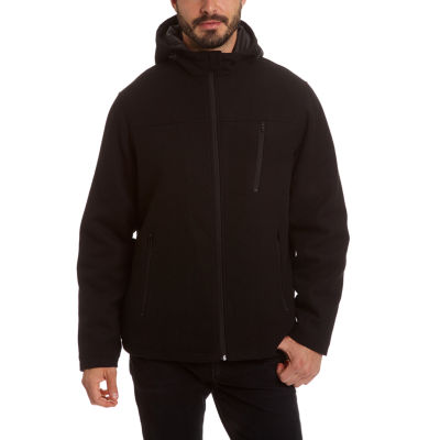 Excelled Men's Comfort Stretch Lightweight Wool Hoody