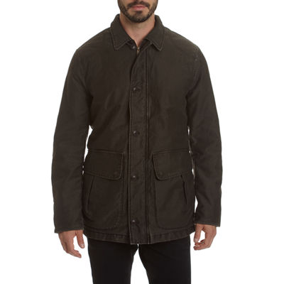 Excelled Men's Weekend Washed Cotton Barn Coat - Big and Tall