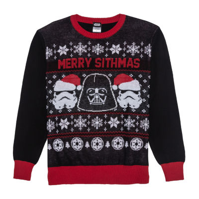 Ugly Christmas Glow In The Dark Star Wars Sweater