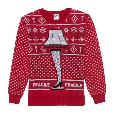 Light Up Ugly Christmas Sweater