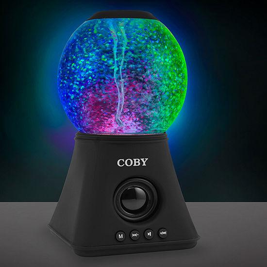 COBY Light-Up Bluetooth Water Vortex Speaker