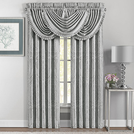 Five Queens Court Brooklyn Rod-Pocket 2 Pair Curtain Panels