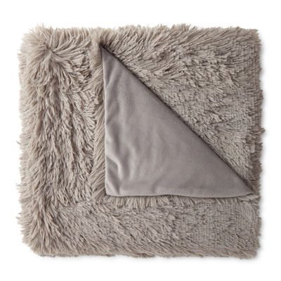 JCPenney Home Shag Throw