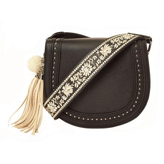 Imoshion Embroidery Crossbody Bag - JCPenney e1b154b844