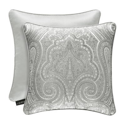 Five Queens Court Brooklyn Square Throw Pillow