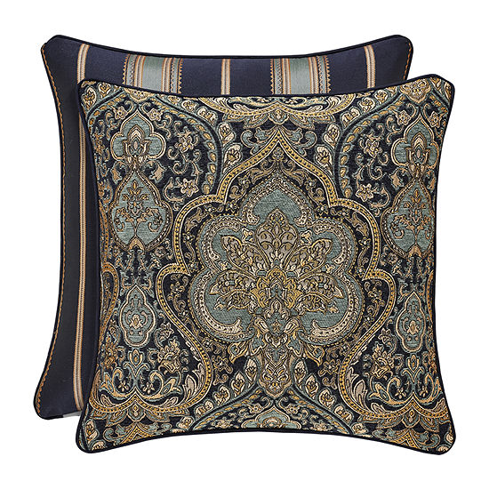 Five Queens Court Palmer 20x20 Square Pillow