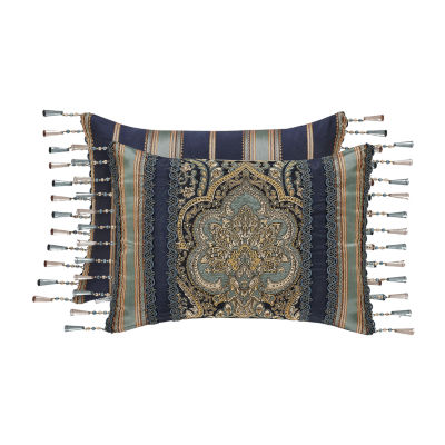 Five Queens Court Palmer Rectangular Throw Pillow