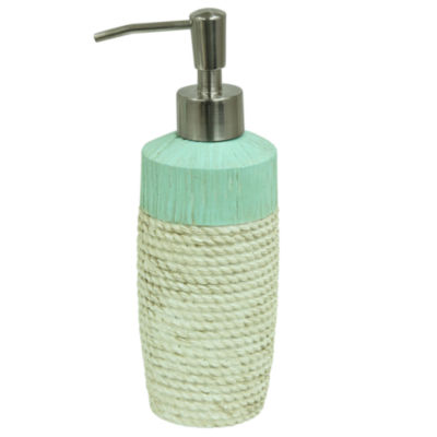 Bacova Guild Coastal Patch Rope Soap Dispenser