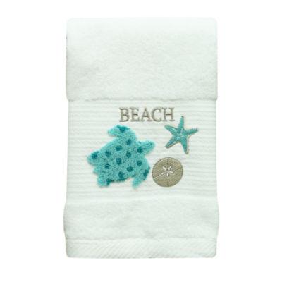 Bacova Guild Coastal Patch Beach + Nautical Hand Towel