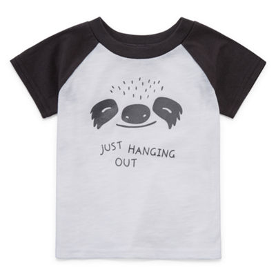 Okie Dokie Boys Round Neck Short Sleeve T-Shirt-Baby