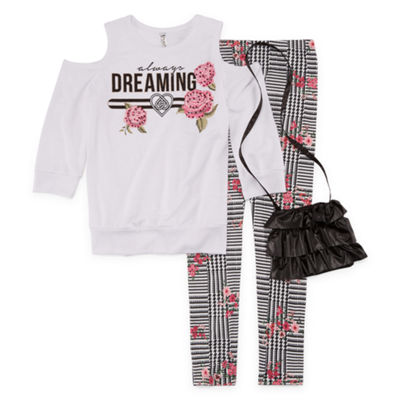 Knit Works 2-pc. Legging Set-Big Kid Girls