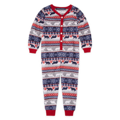 Sleepy Nites Fairisle 1 Piece Pajama - Unisex Kid's