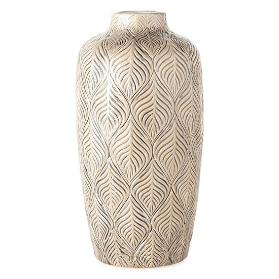JCPenney Home Leaf Decorative Vase