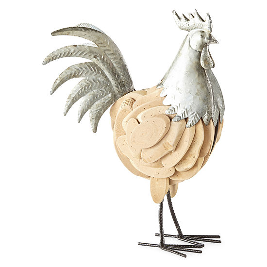 Jcpenney Home Driftwood Rooster Tabletop Decor