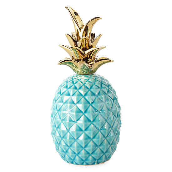 JCPenney Home Ceramic Pineapple Tabletop Decor