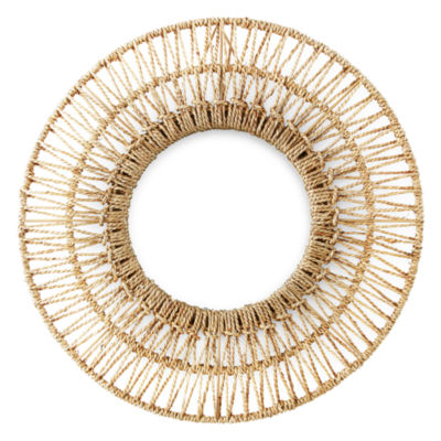 JCPenney Home Seagrass Wall Mirror