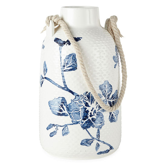 JCPenney Home Floral Ceramic Vase
