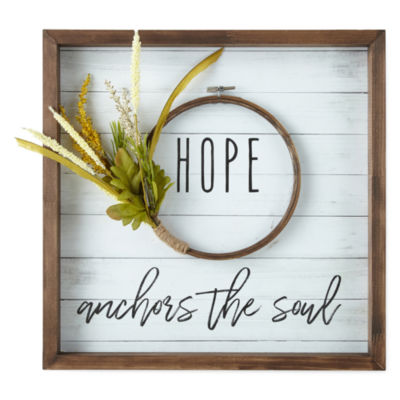 Masterpiece Art Gallery Hope Wall Sign
