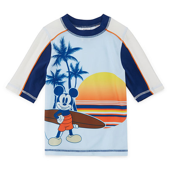 Disney Boys Mickey Mouse Rash Guard