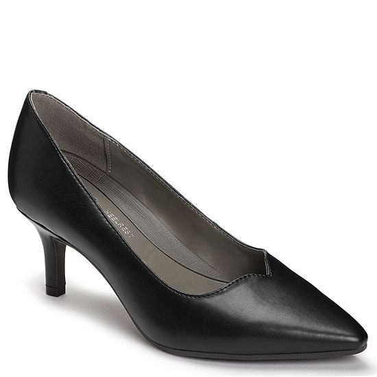 6a9eb6fd48a8e A2 by Aerosoles Womens Anagram Slip-on Pointed Toe Kitten Heel Pumps -  JCPenney
