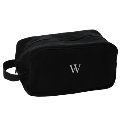 Cathy's Concepts Monogram Canvas Toiletry Bag