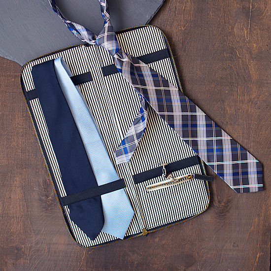 Cathy's Concepts Personalized Travel Tie Case