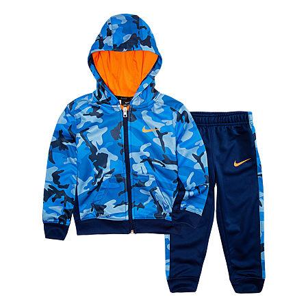Nike Toddler Boys 2-pc. Pant Set, 2t , Blue