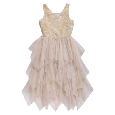 Emily West Sleeveless Party Dress Girls