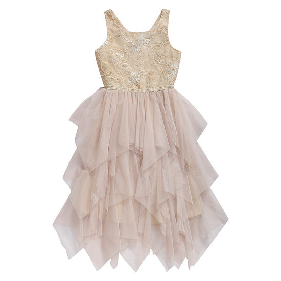 Emily West Girls Sleeveless Party Dress