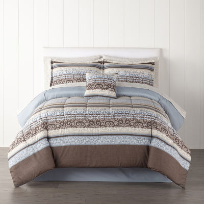 Home Expressions Oakville Complete Bedding Set with Sheets