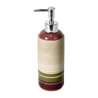Madison Stripe Soap Dispenser