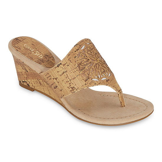 east 5th Womens Flux Wedge Sandals