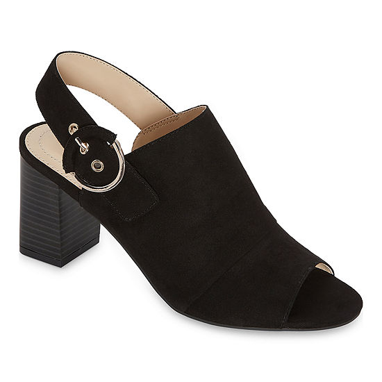 Liz Claiborne Womens Portage Heeled Sandals