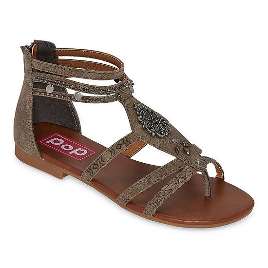 Pop Womens Tamira Flat Sandals