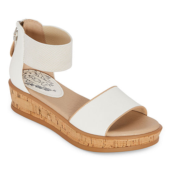 Royu Lillian Womens Footbed Sandals