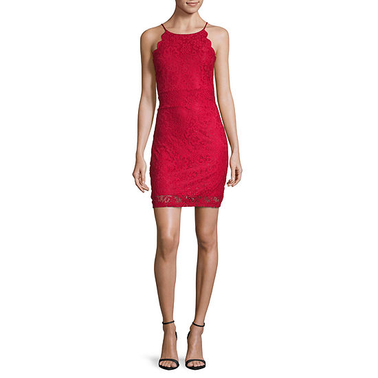 by&by Sleeveless Bodycon Dress - Juniors