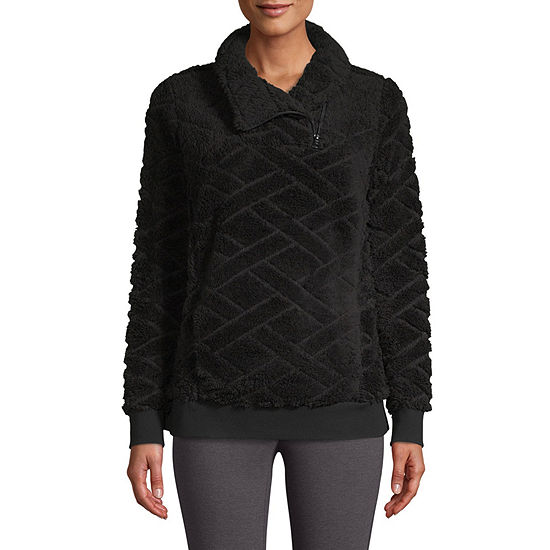 St. John's Bay Active Sherpa Midweight Faux Pullover