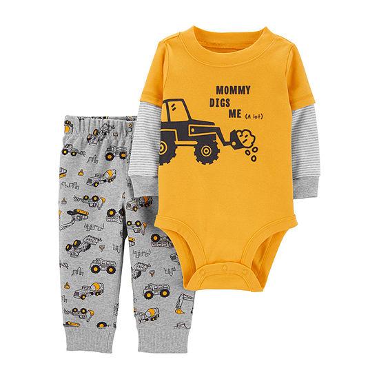 Carter's Boys Bodysuit Set-Baby