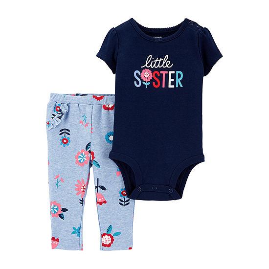 Carter's Girls 2-pc. Bodysuit Set - Baby