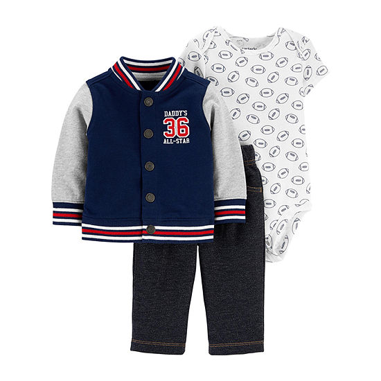Carter's Boys 3-pc. Pant Set Baby