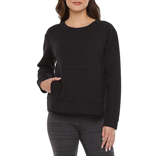 Xersion Womens Crew Neck Long Sleeve Sweatshirt