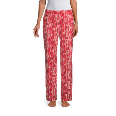 Sleep Chic Womens-Tall Fleece Pajama Pants