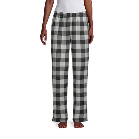 Sleep Chic Womens-Tall Fleece Pajama Pants